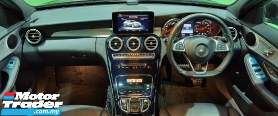 2018 MERCEDES-BENZ C-CLASS 2018 MERCEDES C180 1.6 AMG SPEC ORIGINAL FROM JAPAN UNREG CAR SELLING PRICE ( RM 213000.00 NEGO )