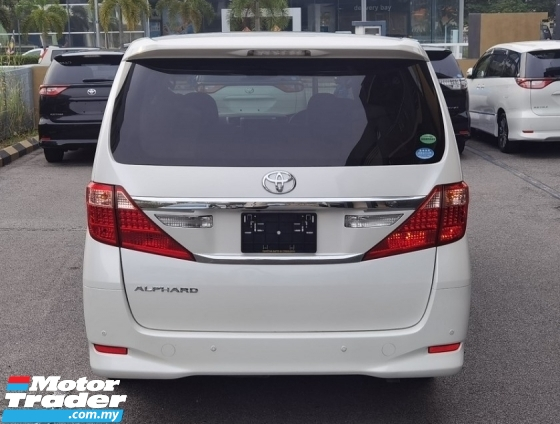 2013 TOYOTA ALPHARD 2013 / 2017 TOYOTA ALPHARD 2.4X  CAR PRICE RM 99,800.00
