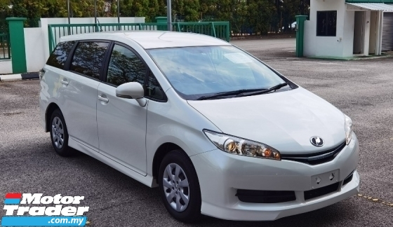 2016 TOYOTA WISH 2016 TOYOTA WISH 1.8 X JAPAN SPEC  CAR SELLING PRICE ONLY ( RM 93800.00 NEGO )