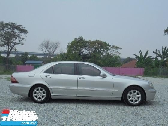 2004 MERCEDES-BENZ S-CLASS  S350L 3.7 V6 W220 VacuumDoor TipTOP Condition LikeNEW