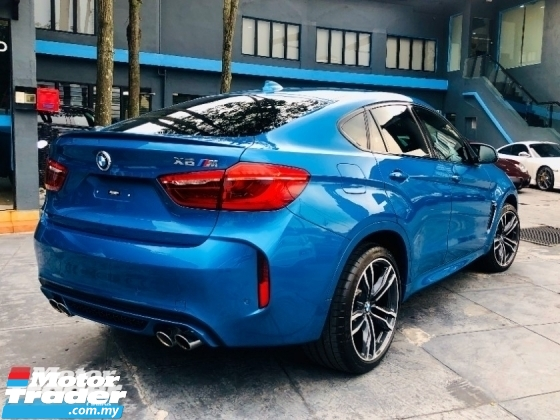2018 BMW X6 M 4.4 V8 M TWINPOWER TURBO WITH DELIVERY MILEAGE