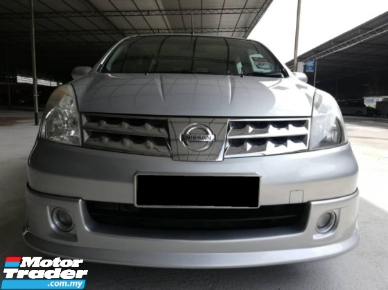 2008 NISSAN LIVINA 1.8 Ctos/Bl/List Can Loan