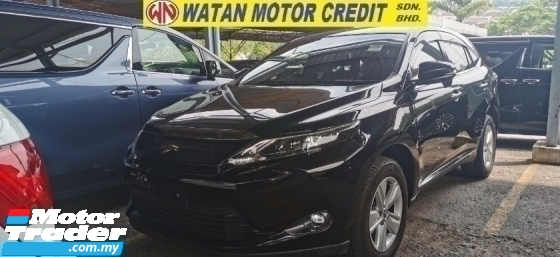 2016 TOYOTA HARRIER 2.0 PREMIUM UNREG.50 SST.TRUE YEAR CAN PROVE.POWER BOOT.360 SURROUND CAMERA.LED LIGHT.ELECTRIC SEAT