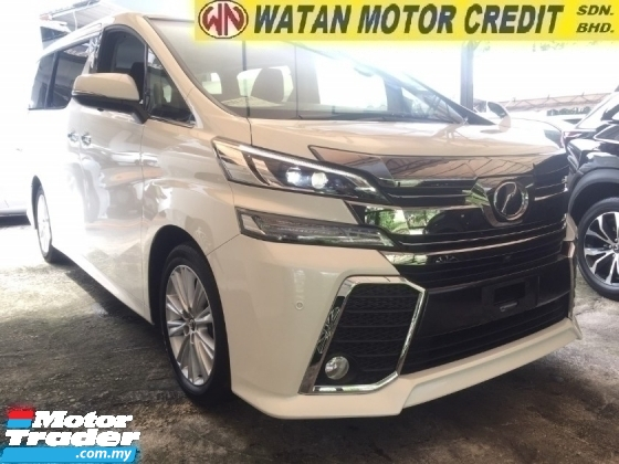 2016 TOYOTA VELLFIRE 2.5 ZA UNREG.HIGHSPEC.HALF SST.TRUE YEAR CAN PROVE.7 SEATS.3 POWER DRS N BOOT.360 CAMERA.XENON LAMP