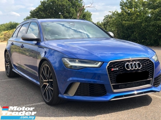 2016 AUDI RS6 {Genuine Mileage} 2016 Audi RS6 Avant Wagon S.Line 4.0L {597-HP} Performance Spec* RS7 R8 RS5 S5