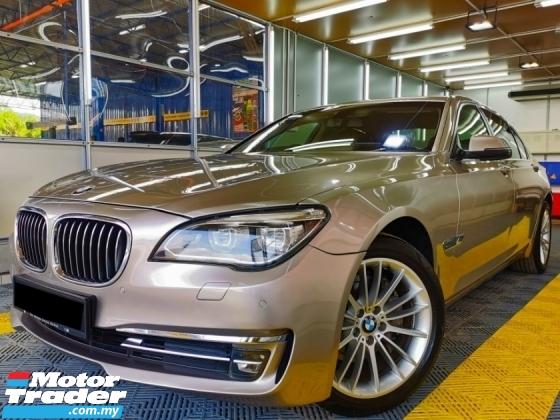 2014 BMW 7 SERIES 3.0 FACELIFT SROOF PwBOOT VACUUM WARRNTY
