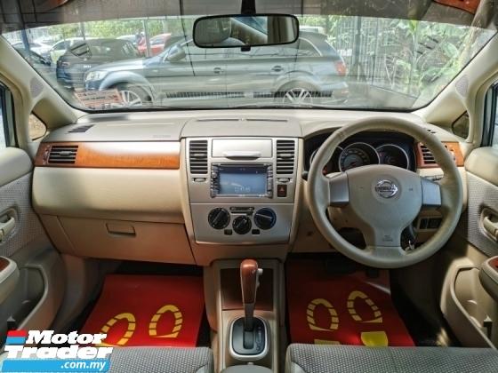 2009 NISSAN LATIO Nissan LATIO 1.8 (A) IMPUL EDITION KEYLESS WRRANTY