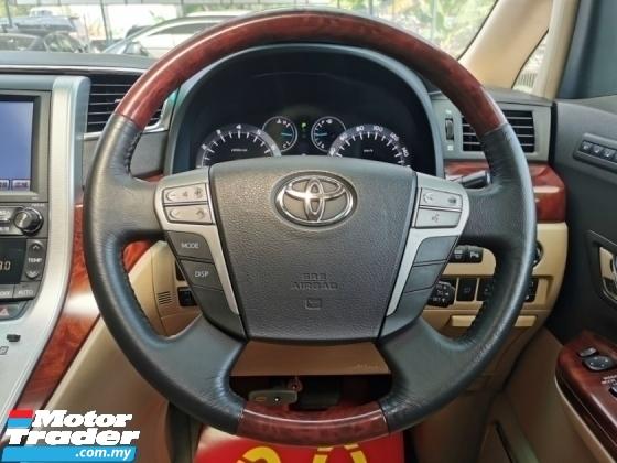 2010 TOYOTA ALPHARD Toyota ALPHARD 3.5 VL PILOT PBOOT C/BOX N/FACELIFT