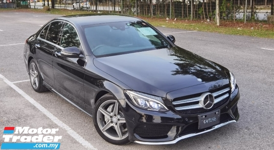 2015 MERCEDES-BENZ C-CLASS 2015 MERCEDES C180 1.6 AMG SPEC ORIGINAL FROM JAPAN UNREG CAR SELLING PRICE ( RM 173,000.00 NEGO )