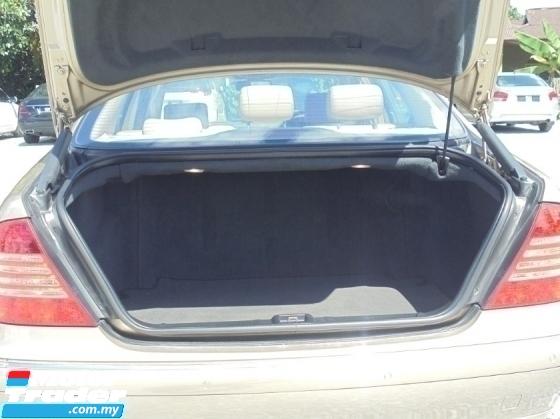 2004 MERCEDES-BENZ S-CLASS 3.7 W220 V/Door TipTOP LikeNEW