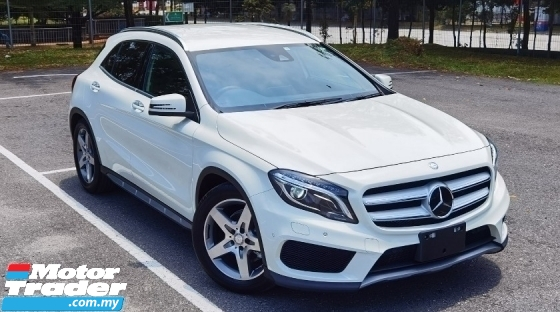 2016 MERCEDES-BENZ GLA 2016 MERCEDES BENZ GLA 180 1.6 AMG TURBO  JAPAN SPEC CAR PRICE ONLY RM 159000.00 POWER BOOT