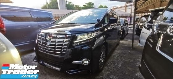 2015 TOYOTA ALPHARD 2.5 SC FULLSPEC UNREGISTE.INCLUDED 50 SST.TRUE YEAR CAN PROVE.JBL THEATER.PRE CRASH.360 CAMERA N ETC
