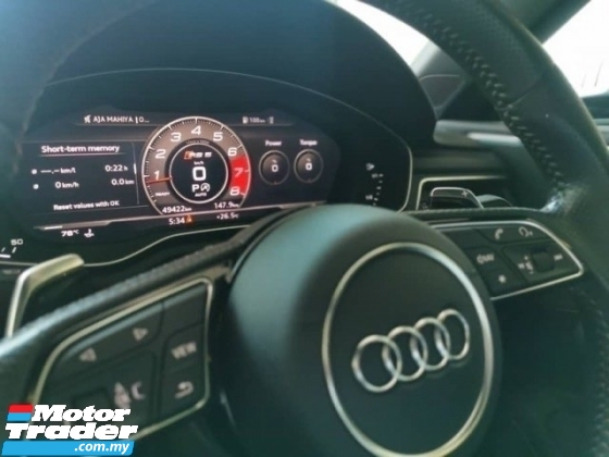 2018 AUDI RS5 MILTEK HUD B&O KEYLESS 2018 Audi RS5 2.9 V6 TFSI