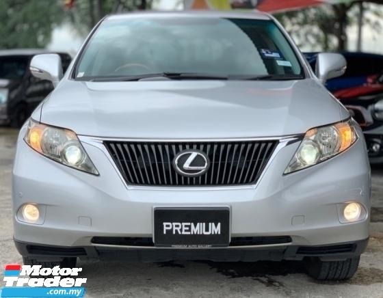 2011 LEXUS RX 270 LUXURY SUV PREMIUM SPEC