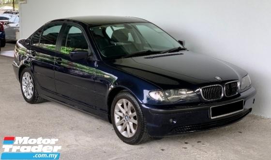 2005 BMW 3 SERIES 318i 2.0 Auto Facelift Luxury High Grade Model