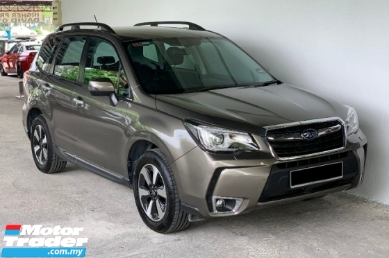 2017 SUBARU FORESTER 2.0 IP (A) Facelift Full High Spec