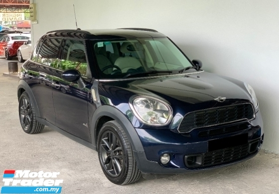 2012 MINI Countryman Cooper S 1.6 Auto ALL 4 High Grade