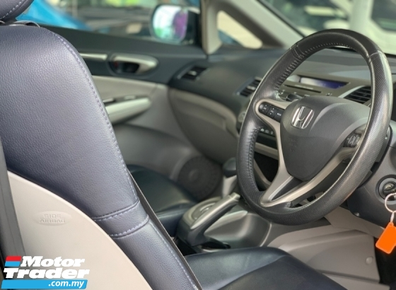 2009 HONDA CIVIC 2.0S i-VTEC K20A DOHC 1 LADY OWNER FD