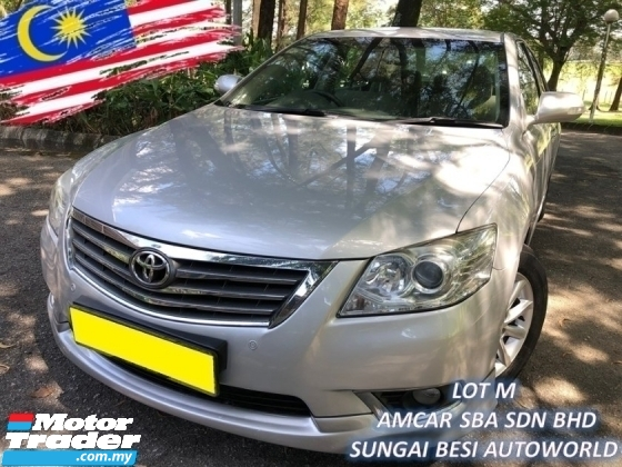 2012 TOYOTA CAMRY 2.0 NEW FACELIFT (A) XV40 LEATHER 1 OWNER SALE