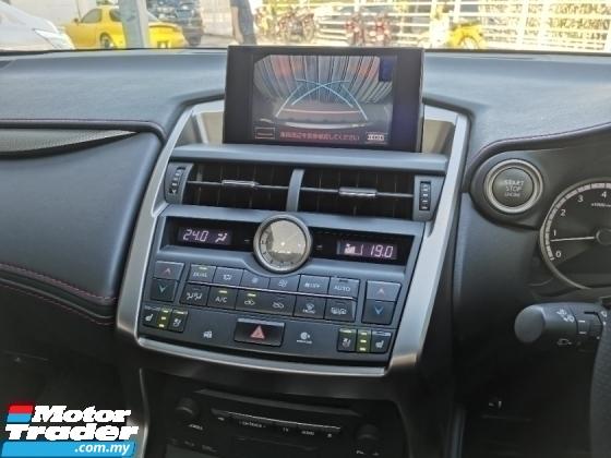 2015 LEXUS NX NX200T NX 200 F.Sport Full Spec {100%-Genuine Mileage* Highest Grade Car} RX200 RX300 RX 300 Evoque