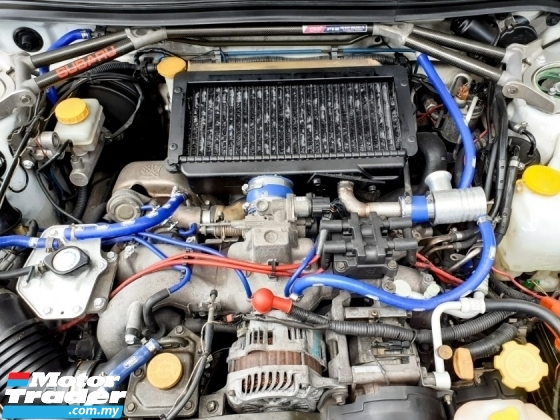 2000 SUBARU FORESTER Subaru FORESTER 2.0 STi TURBO (M) MANUAL FULLLOAD