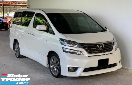 2010 TOYOTA VELLFIRE 3.5 Auto Facelift High Grade Model