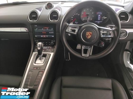2017 PORSCHE 718 2017 Porsche Cayman 718 2.5L Sport Chrono Bose Sound System Full Leather Japan Spec Unregister for sale