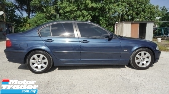2002 BMW 3 SERIES 318i E46 1.9 (CKD) Original Paint Confirm Accident Free No Repair Need 4 New Tyres Good Condition Worth Buy
