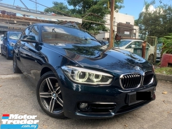 2016 BMW 1 SERIES 1.5 FACELIFT (A) FULL SERVICE RECORD 1 OWNER