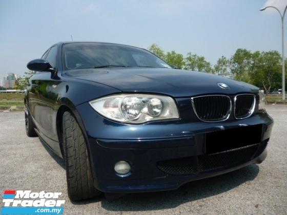 2007 BMW 1 SERIES 116I 25TH ANNIVERSARY EDITION