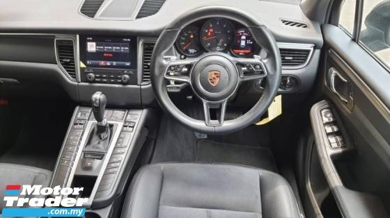 2016 PORSCHE MACAN Porsche macan 2.0 2015