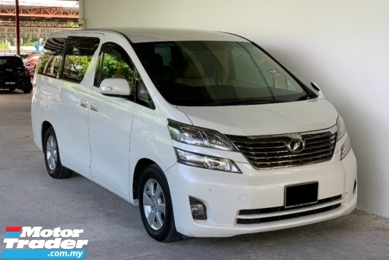 2011 TOYOTA VELLFIRE 2.4 Auto Facelift High Grade Model