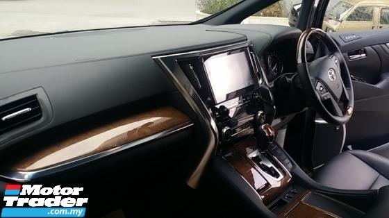 2017 TOYOTA ALPHARD Toyota Alphard 3.5EL 2017