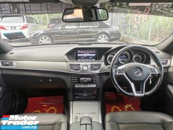 2015 MERCEDES-BENZ E-CLASS Mercedes Benz E250 2.0 AMG SPORT EDITION HI-SPEC