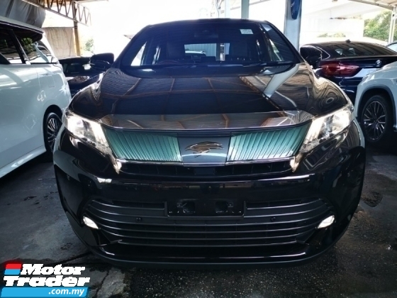 2017 TOYOTA HARRIER 2.0 PREMIUM FACELIFT GRED AAA.UNREGIST.TRUE YEAR CAN PROVE.HALF SST.POWER BOOT.PRE CRASH.360 CAMERA