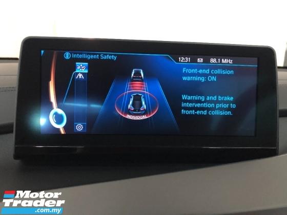 2016 BMW I8 1.5 Turbo e-Drive 357hp 360 Surround Camera Head Up Display Harman Kardon Premium Sound System Adaptive Intelligent Full LED Lights Multi Function Paddle Shift Steering Drive Selection Pre Collision Safety Lane Departure Alert Unreg