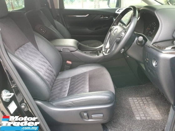2015 TOYOTA VELLFIRE 2.5ZG Edition,PILOT SEAT,4 ELECTRIC SEAT,HALF LEATHER ALCANTARA SEAT,CENTRE MONITOR, 360 DEGREE CAMERA,EXCELLENT CONDITION,VIEW TO SATISFY,GRAB IT