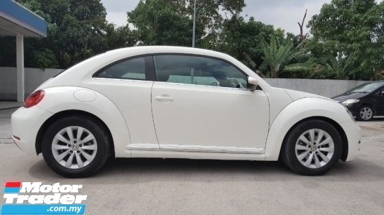2014 VOLKSWAGEN BEETLE 1.2 TSI Coupe (CBU) Free 1 Yrs Warranty Original Paint Accident Free Low Mileage the No Repair Need Worth Buy