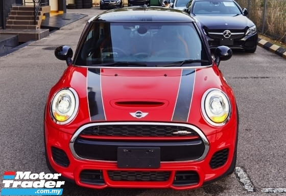 2016 MINI JOHN COOPER WORKS 2016 MINI COOPER JCW 2.0A TWIN TURBO FACELIFT JAPAN SPEC SELLING PRICE ( RM 173000.00 NEGO )