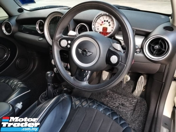 2008 MINI Cooper 1.6 S R56 (A) FULL SERVICE RECORD