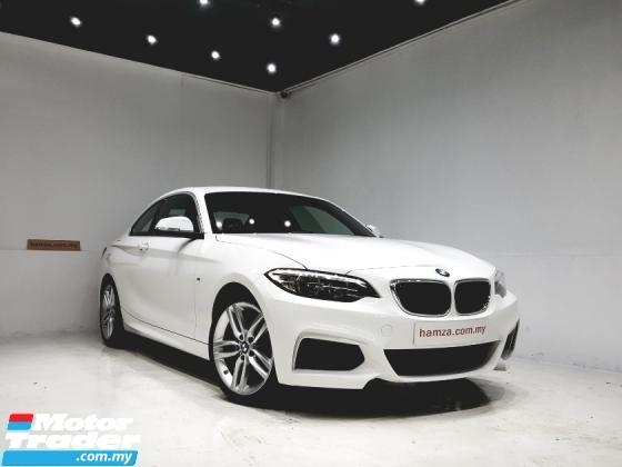 2015 BMW 2 SERIES 2015 Bmw 218i M SPORT 1.5 UNREG