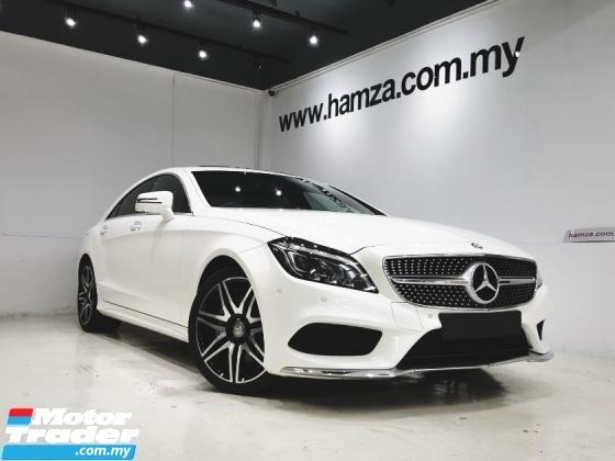2016 MERCEDES-BENZ CLS-CLASS 2016 Mercedes Benz CLS400 AMG (UNREG) DIAMOND WHITE