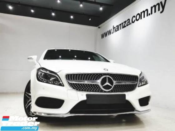 2016 MERCEDES-BENZ CLS-CLASS 2016 Mercedes Benz CLS400 AMG DIAMOND WHITE