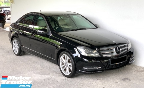 2014 MERCEDES-BENZ C-CLASS C200 1.8 Auto High Grade Model