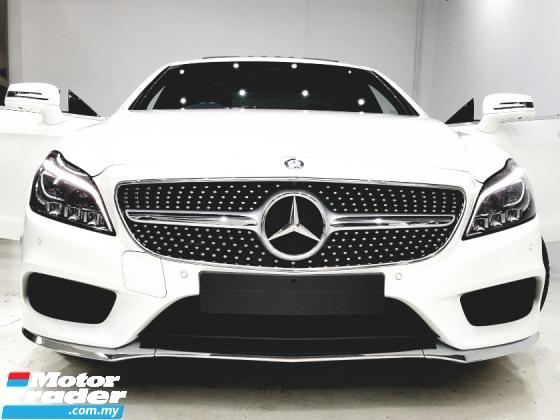 2016 MERCEDES-BENZ CLS-CLASS 400 AMG UNREG DIAMOND WHITE