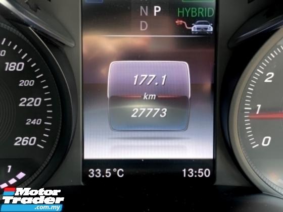 2018 MERCEDES-BENZ C-CLASS C350 E AMG HYBRID UNDER WARRANTY P/ROOF P/BOOT ORI PAINT