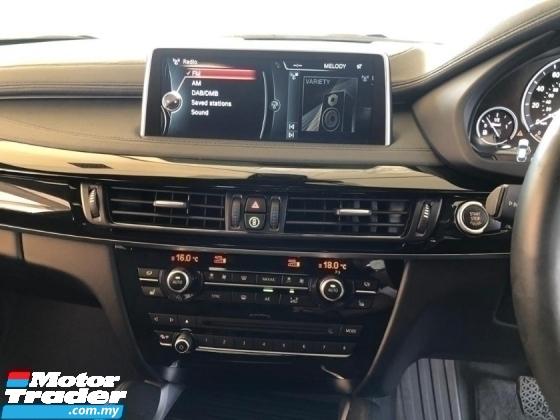 2015 BMW X6  3.0 40D M SPORT TWIN POWER TURBOCHARGER 360 HP SUNROOF HEADUP DISPLAY  PRICE INCLUSIVE SST