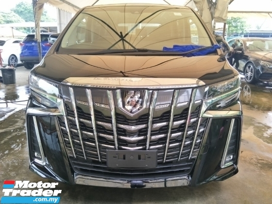 2018 TOYOTA ALPHARD 2.5 SA 7 Seater Unregister * * Push Start Button * 7 Seater * 360 Surround Camera * Power Boot