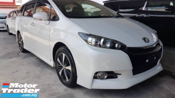 2016 TOYOTA WISH Toyota Wish 1.8 S MONOTONE with Sunroof