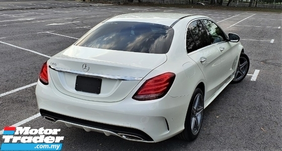 2016 MERCEDES-BENZ C-CLASS 2016 Mercedes Benz C200 AMG 5 DRIVE DYNAMIC MODES CAR SELLING PRICE ( RM 188000.00 NEGO )